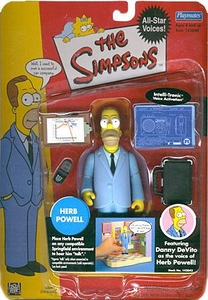 The Simpsons Celebrity Playmates Series 1 Action Figure Herb Powell