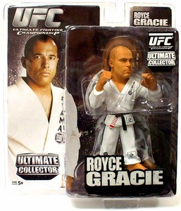 Round 5 UFC Ultimate Collector Series 4 Action Figure Royce Gracie [White Gi]