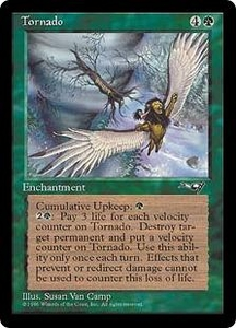 Magic the Gathering Alliances Single Card Rare Tornado