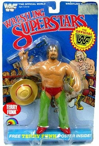 WWF LJN Wrestling Superstars Terry Funk