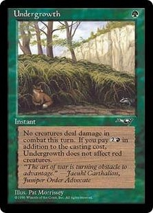 Magic the Gathering Alliances Single Card Common Undergrowth [Random Artwork]
