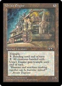 Magic the Gathering Alliances Single Card Uncommon Urza's Engine