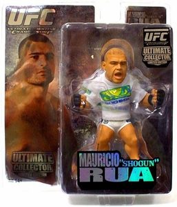 Round 5 UFC Ultimate Collector Series 4 LIMITED EDITION Action Figure Mauricio Rua Only 2,000 Made!
