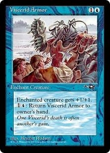 Magic the Gathering Alliances Single Card Common Viscerid Armor [Random Artwork]