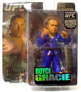 Round 5 UFC Ultimate Collector Series 4 LIMITED EDITION Action Figure Royce Gracie Only 1,000 Made!