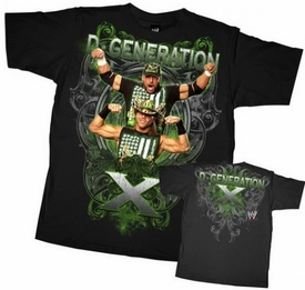 Official WWE Wrestling Superstars Youth T-Shirt D-Generation X DX WWY125