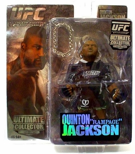 Round 5 UFC Ultimate Collector Series 4 LIMITED EDITION Action Figure Quinton Jackson Only 1,000 Made!