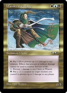 Magic the Gathering Alliances Single Card Rare Wandering Mage