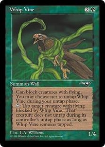 Magic the Gathering Alliances Single Card Common Whip Vine [Random Artwork]