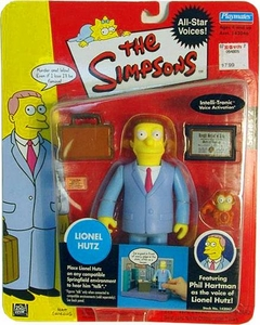 The Simpsons Celebrity All Star Voices Action Figure Phil Hartman as Lionel Hutz
