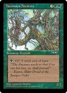 Magic the Gathering Alliances Single Card Common Yavimaya Ancients [Random Artwork]
