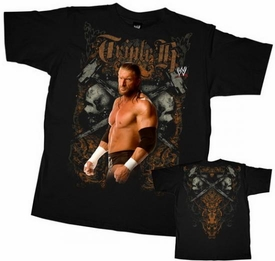Official WWE Wrestling Superstars Child T-Shirt Triple H