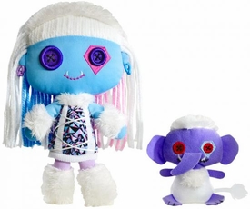 Monster High Friends Deluxe Plush Doll Figure Abbey Bominable & Shiver