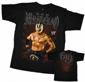 Official WWE Wrestling Superstars Child T-Shirt Rey Mysterio