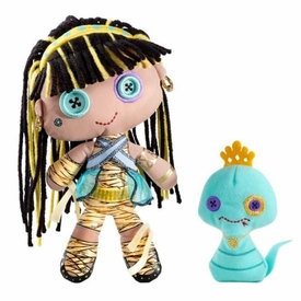 Monster High Friends Deluxe Plush Doll Figure Cleo de Nile & Hissette