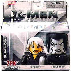 Marvel MiniMates Series 14 X-Men 3: The Last Stand Mini Figure 2-Pack Storm & Colossus