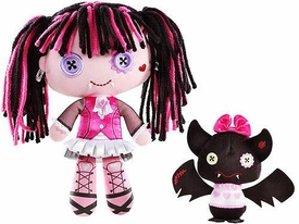 Monster High Friends Deluxe Plush Doll Figure Draculaura & Count Fabulous