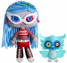 Monster High Friends Deluxe Plush Doll Figure Ghoulia Yelps & Sir Hoots A Lot