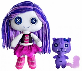 Monster High Friends Deluxe Plush Doll Figure Spectra Vondergeist & Rhuen Damaged Package, Mint Contents!