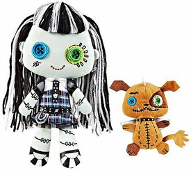 Monster High Friends Deluxe Plush Doll Figure Frankie Stein & Watzit