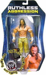 WWE Jakks Pacific Wrestling Action Figure Ruthless Aggression Series 24 Sabu (Gold Pants)
