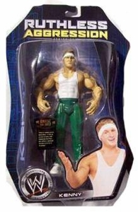 WWE Jakks Pacific Wrestling Action Figure Ruthless Aggression Series 24 Kenny [Spirit Squad]