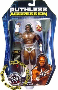 WWE Jakks Pacific Wrestling Action Figure Ruthless Aggression Series 24 Booker T with Crown