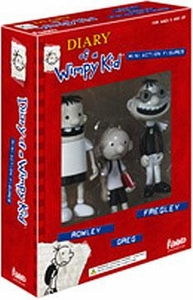 Funko Diary of a Wimpy Kid Mini Action Figure 3-Pack [Greg, Rowley & Fregley]