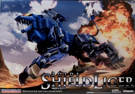Zoids Yamato 9.4 Inch Diecast Action Figure Shield Liger [RZ-007]
