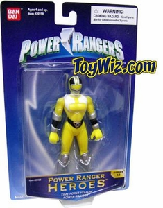 Power Rangers Heroes Action Figure Series 13 Yellow Ranger