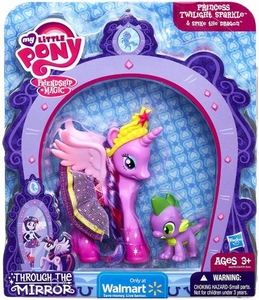 My Little Pony Through the Mirror Exclusive Figure 2-Pack Princess Twilight Sparkle & Spike the Dragon
