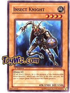 YuGiOh Flaming Eternity Single Card Common FET-EN004 Insect Knight