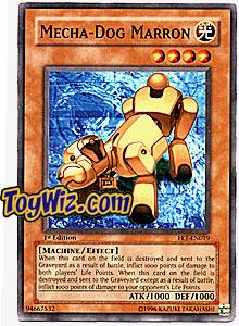 YuGiOh Flaming Eternity Single Card Common FET-EN019 Mecha - Dog Marron