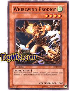 YuGiOh Flaming Eternity Single Card Common FET-EN030 Whirlwind Prodigy