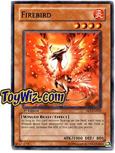 YuGiOh Flaming Eternity Single Card Common FET-EN032 Firebird