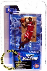 McFarlane Toys NBA 3 Inch Sports Picks Series 4 Mini Figure Tracy McGrady 2 (Houston Rockets)
