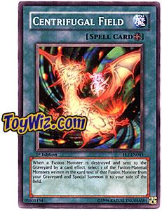 YuGiOh Flaming Eternity Single Card Common FET-EN045 Centrifugal Field