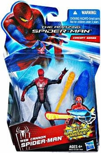 Amazing Spider-Man Movie 3.75 Inch Action Figure Web Cannon Spider-Man [Launching Missile!]