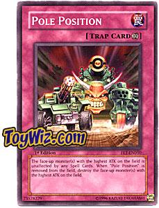YuGiOh Flaming Eternity Single Card Common FET-EN050 Pole Position
