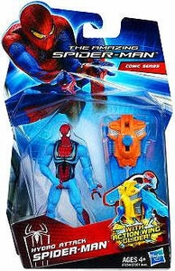 Amazing Spider-Man Movie 3.75 Inch Action Figure Hydro Attack Spider-Man [Action Wing Glider!]