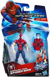 Amazing Spider-Man Movie 3.75 Inch Action Figure Grappling Hook Spider-Man [Extending Zip Line!]