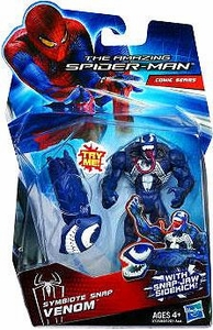 Amazing Spider-Man Movie 3.75 Inch Action Figure Symbiote Snap Venom [Snap Jaw Sidekick!]