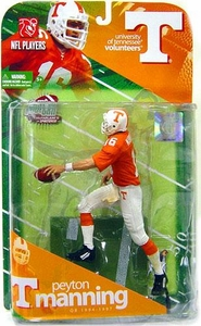 McFarlane Toys NCAA COLLEGE Football Sports Picks Series 1 Action Figure Peyton Manning (Tennessee Volunteers)