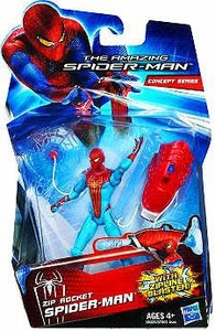 Amazing Spider-Man Movie 3.75 Inch Action Figure Zip Rocket Spider-Man [Zipline Blaster!]