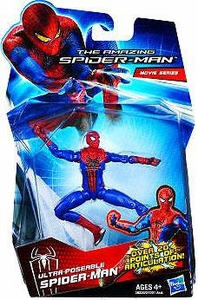 Amazing Spider-Man Movie 3.75 Inch Action Figure Ultra Poseable Spider-Man [Over 20 Points of Articulation!]