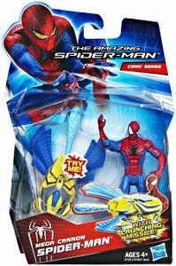 Amazing Spider-Man Movie 3.75 Inch Action Figure Mega Cannon Spider-Man [Launching Missile!]
