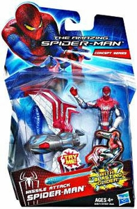 Amazing Spider-Man Movie 3.75 Inch Action Figure Missile Attack Spider-Man [Blasting Glider!]