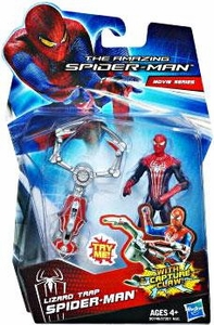 Amazing Spider-Man Movie 3.75 Inch Action Figure Lizard Trap Spider-Man [Capture Claw!]