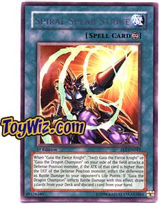 YuGiOh Flaming Eternity Single Card Rare FET-EN043 Spiral Spear Strike