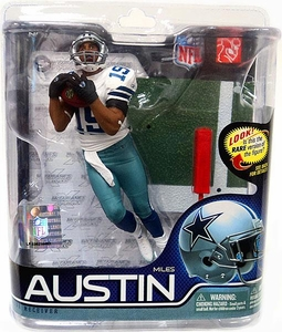McFarlane Toys NFL Sports Picks Series 27 Action Figure Miles Austin (Dallas Cowboys) Jersey #19